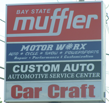 Our Sign, Auto Repair, Auto Maintenance in Peabody, MA